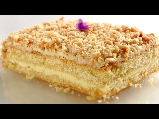 Бисквитный торт на ютубе