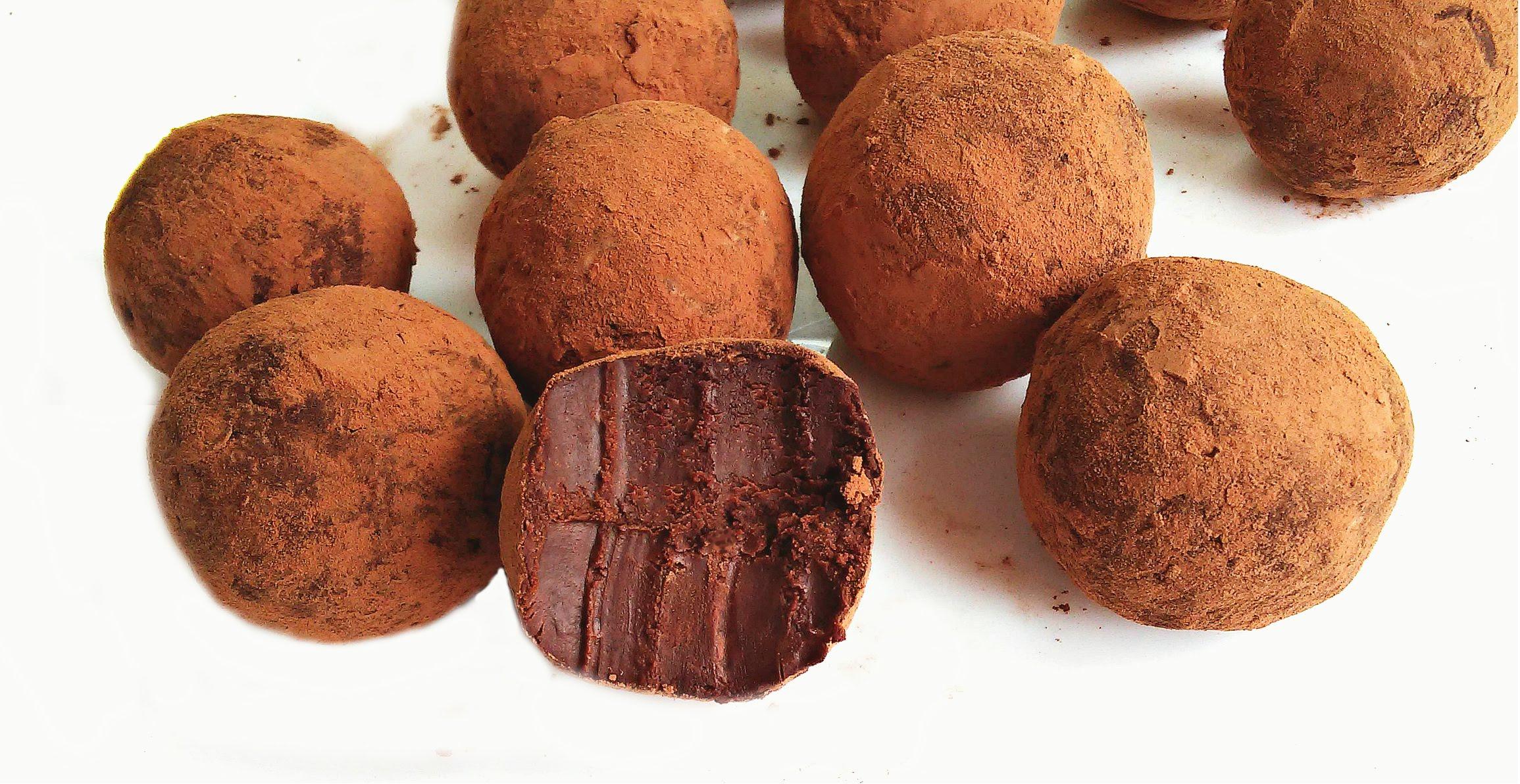 Рецепты шоколадных конфет в домашних условиях фото